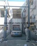 Utilisation de maison de levage de véhicule de poste de la verticale quatre