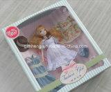 Custom Printing Plastic & Paper Folding Box para brinquedos Barbie (caixas de presente)