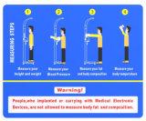 Peso e Altura de ultra-sons de escalas de medição com a pressão arterial e medidor de gordura Dhm-800z