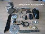 Des Moped-Motor-80cc Anfall USA-Entwurf Fahrrad-des Motor2, CNC Herstellung
