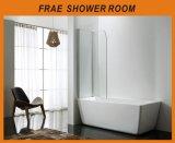 Baracca semplice della stanza da bagno della doccia di allegato dell'acquazzone della vasca da bagno del perno