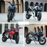 Krachtige EEC Electric Racing-motorfiets 2000 W 72 V 20 ah lithiumbatterij Voor volwassenen