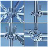 Système d'échafaudage d'Anneau-Serrure de pipe en acier