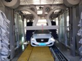 Sistema de lavado automático carro transportador con Cepillos de pulido