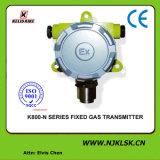 Detector de Gas Fijo de la Visualización de LED 4-20mA H2s