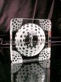 Placa cristalina del golf 3D