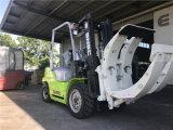 Carretilla elevadora diesel del rodillo del papel de China 3ton a Líbano