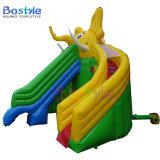 象の膨脹可能な子供のスライド、膨脹可能な水スライド