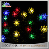 Dekorative Weihnachtsdekoration-Zeichenkette-acrylsauerlichter des Motiv-LED