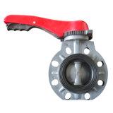 Двухстворчатый клапан /промышленной пластиковой клапаны/PVC двухстворчатый клапан