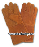 Schweißer-Handschuh/Weling Handschuhe/Leder-Arbeits-Handschuhe