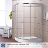 유리제 샤워를 위한 단단하게 한 유리를 지우거나 문을 샤워하십시오