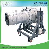 El plástico PVC/PE/PP/PPR/LDPE& Agua electricidad tubo conduit/tubo que hace la máquina de extrusión de la extrusora