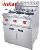Frigideira profunda superior contrária do anúncio publicitário por atacado para o equipamento do alimento da cozinha da máquina da restauração da frigideira dos peixes da galinha das microplaquetas de batata