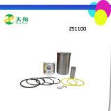 Le moteur diesel de ferme d'écart-type partie la doublure de cylindre de Shangdong SD1110