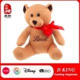 Zachte Speelgoed van de Teddybeer van Kintted het Pluche Gevulde met Lint