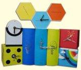 Головоломка печатание, Pop-up книга, 3D открытка, часы корабля, магнит холодильника, поздравительная открытка (010)