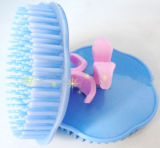 Pele de massagem de pente de plástico / pente de massagem (GXC04)