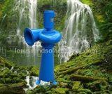 Difusor de flujo axial sistema generador de turbina de agua