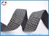 Webbing do poliéster da correia do jacquard da decoração para acessórios do vestuário das sapatas dos sacos