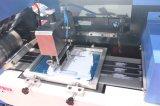 Etiquetas de satén de máquina de impresión automática de pantalla con el doble de caras Imprimir