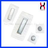 Кнопка спрятанная прямоугольником магнитная для сумок