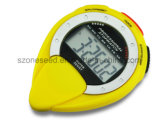 Temporizador digital Anti-choque impermeável grande visor LCD digital para o relógio esportivo