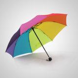23 '' * [8ك] قوّيّة إطار قوس قزح لون مظلة