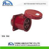 334 344 63A/125A 380-415V 3p+E IP67の産業ソケット