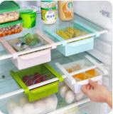 저장 선반 부엌 단정한 분류 저장 상자 선반을%s 가진 냉장고 냉장고 격실 층 끝마무리