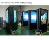 43 дюйма IP65 делает индикацию водостотьким LCD держателя крыши напольную двойную, котор встали на сторону (MW-431OA)