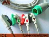 L&T One-Piece Cable de ECG con derivaciones