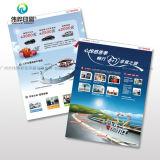 Kundenspezifisches preiswertes förderndes Flugblatt, das Handelsblättchen-Broschüre faltet