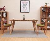단단한 나무로 되는 식사 책상 거실 가구 (M-X2373)