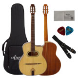 Изготовленный на заказ самое лучшее продавая акустическую гитару гитары цыганина Китая