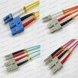 ScLC Om1/Om2/Om3/Om4 Sm/mm Sx/Dx 2.0/3.0 PVC LSZH光ファイバパッチ・コード