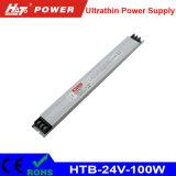 bloc d'alimentation ultra-mince de 24V 4A 100W pour annoncer le cadre léger