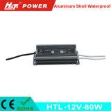 12V 6A impermeabilizan la fuente de alimentación del LED con las Htl-Series de RoHS del Ce