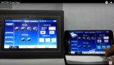 HMI de 7 pouces avec logiciel Scada