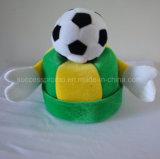 Diseños y dimensión de una variable del sombrero del fútbol los varios están disponibles