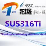 SUS316ti de Corrosiebestendige Roestvrij staal Gesmede Pijp van de Strook om Staaf