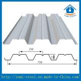 構造建物のための波形の電流を通された鋼鉄床のDeckingシート