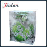 Packpapier-gedruckter Funkeln-Blumen-Einkaufen-Geschenk-Papierbeutel Brown-