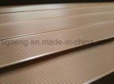 Incêndio impermeável - placa ao ar livre resistente do Decking de WPC com boa qualidade