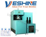 5 Galão tecla Semi-Auto máquinas de sopro de garrafas