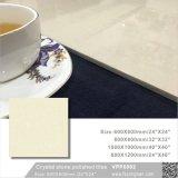 Material de construção de pedra cristal Floortile porcelana polida (VPP6001, 600x600mm, 800x800mm)