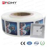 De tamaño personalizado 13.56MHz RFID F08 con incrustaciones de PVC para la gestión de bibliotecas