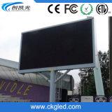 Visualización de LED fija Single-Column impermeable al aire libre P10 para hacer publicidad