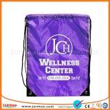 Personnalisé 35x45cm Nylon Imprimer grand sac avec lacet de serrage