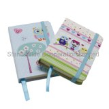 Elastic Band를 가진 주문 Hard Cover School Stationery Notebook